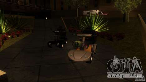 Elektroscooter - Speedy for GTA San Andreas left view