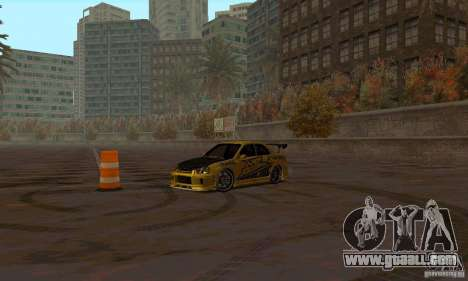 NFS Most Wanted - Paradise for GTA San Andreas eleventh screenshot