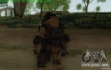Sniper Warface for GTA San Andreas third screenshot