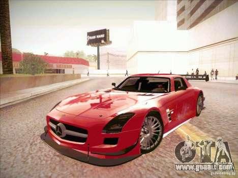 Mercedes-Benz SLS AMG GT-R for GTA San Andreas left view