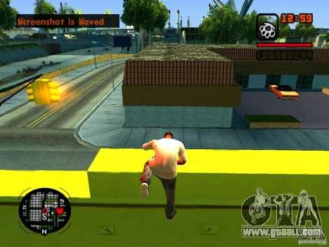 GTA IV Animation in San Andreas for GTA San Andreas ninth screenshot