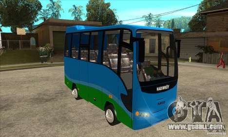 Iveco Eurocity for GTA San Andreas back view