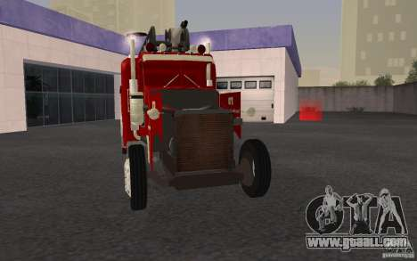 Peterbilt 379 Fire Truck ver.1.0 for GTA San Andreas bottom view