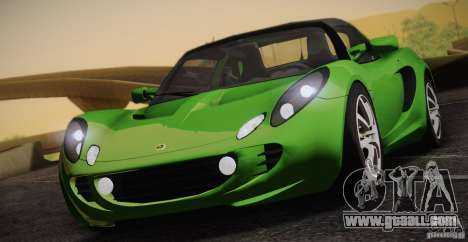 Lotus Elise 111s 2005 v1.0 for GTA San Andreas inner view
