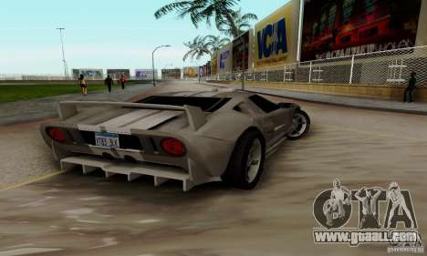 Ford GT Tuning for GTA San Andreas right view