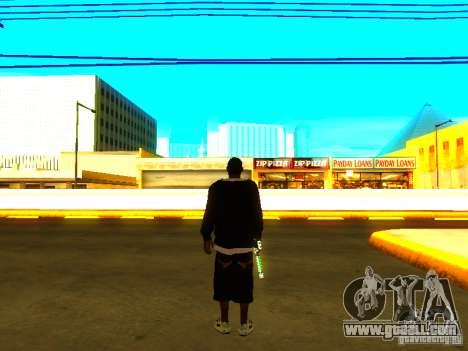 New thick Ballas for GTA San Andreas forth screenshot