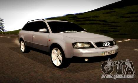 Audi A6 C5 Avant 3.0 for GTA San Andreas