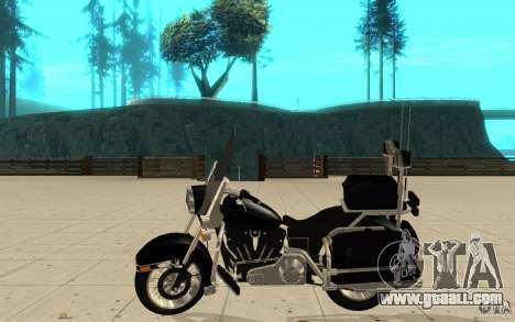 GTAIV TBOGT PoliceBike for GTA San Andreas left view