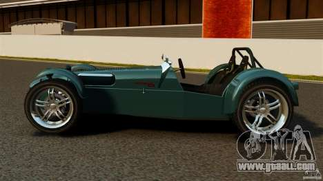 Caterham Superlight R500 for GTA 4 left view
