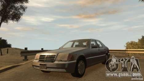 Mersedes-Benz 500SE Wheels 2 for GTA 4