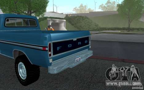 Ford F150 Ute 1976 for GTA San Andreas right view