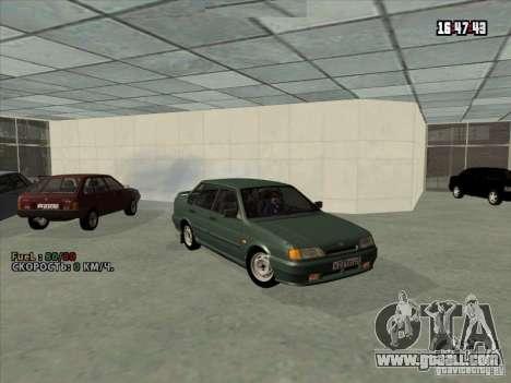 VAZ 2115 Drain for GTA San Andreas