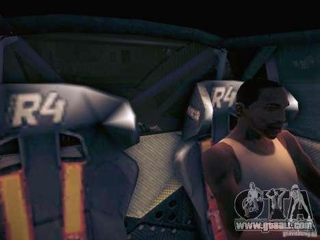 Colin McRae R4 for GTA San Andreas inner view