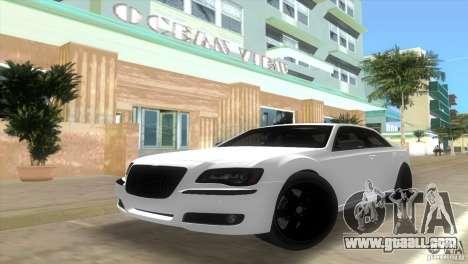 Chrysler 300C SRT V10 TT Black Revel 2011 for GTA Vice City