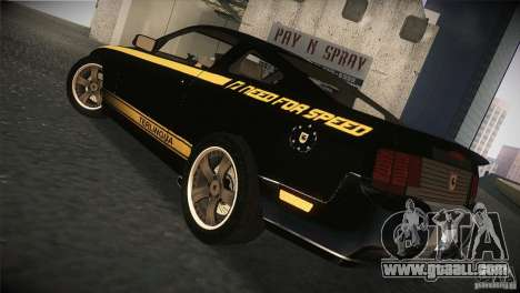 Shelby GT500 Terlingua for GTA San Andreas right view