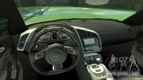 Audi R8 Spyder v10 [EPM] for GTA 4 back view