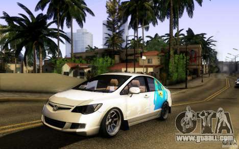 Honda Civic FD BlueKun for GTA San Andreas