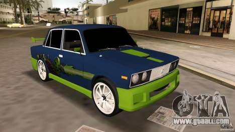 VAZ 2106 Tuning v2.0 for GTA Vice City left view