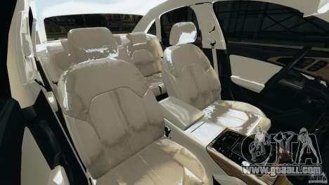 Audi A6 for GTA 4 inner view