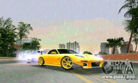 Mazda RX7 RE-Amemiya for GTA Vice City