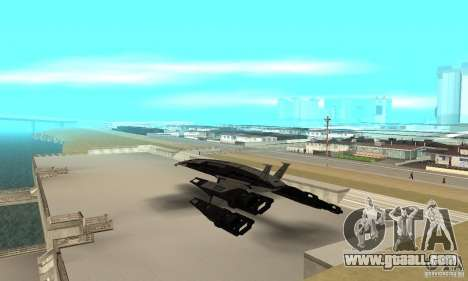 S.S.V. NORMANDY-SR 2 for GTA San Andreas back left view
