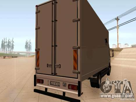 Mercedes-Benz Atego for GTA San Andreas right view