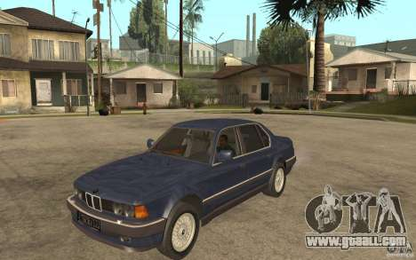 BMW 735Li e32 for GTA San Andreas