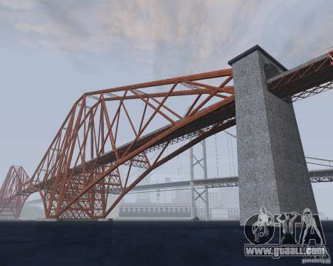 New textures of three bridges in SF for GTA San Andreas fifth screenshot