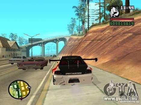 Mitsubishi Lancer Evo IX SpeedHunters Edition for GTA San Andreas back left view