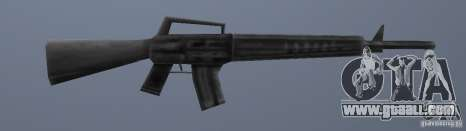 M16 for GTA Vice City third screenshot