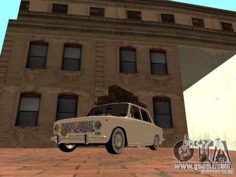 VAZ 2101 Resto for GTA San Andreas