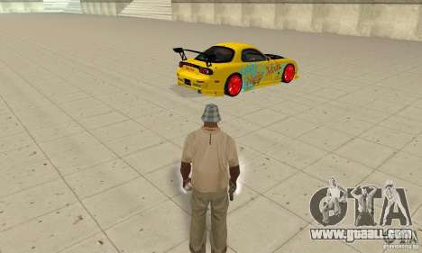 Supernatural ability of CJ-I for GTA San Andreas