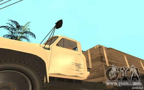Gaz-52 for GTA San Andreas upper view