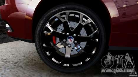 Maserati Gran Turismo 2008 Beta for GTA 4 right view