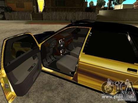 Lada 2170 Priora GOLD for GTA San Andreas right view