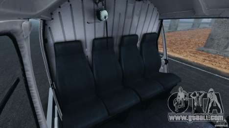 Eurocopter AS350 Ecureuil (Squirrel) for GTA 4 inner view