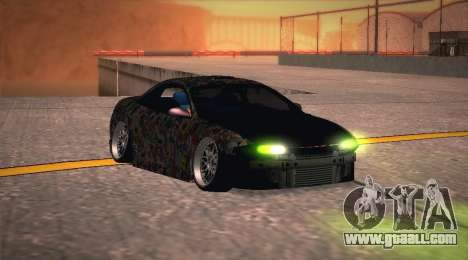 Mitsubishi Eclipse 1997 Drift for GTA San Andreas