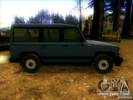 UAZ 3170 for GTA San Andreas back view