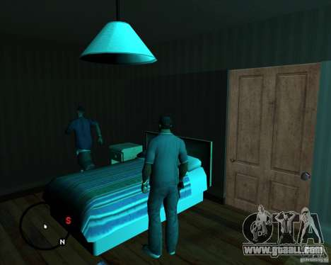 Go to any House for GTA San Andreas third screenshot