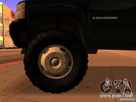 Chevrolet Silverado HD 3500 2012 for GTA San Andreas right view