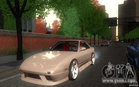 Nissan Silvia S13 Onevia for GTA San Andreas back left view
