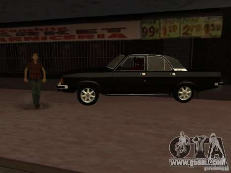 GAZ 3102 for GTA San Andreas left view