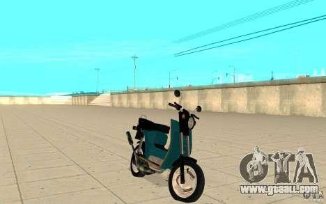Simson SR50 tuned Big Bore 3 for GTA San Andreas