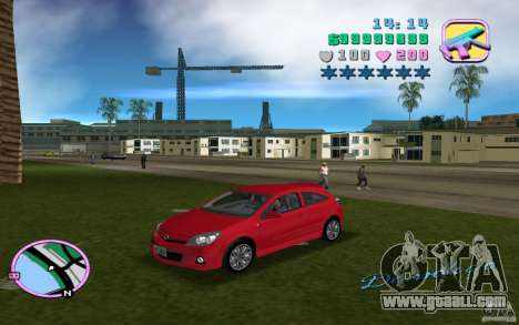 Opel Astra OPC 2006 for GTA Vice City right view