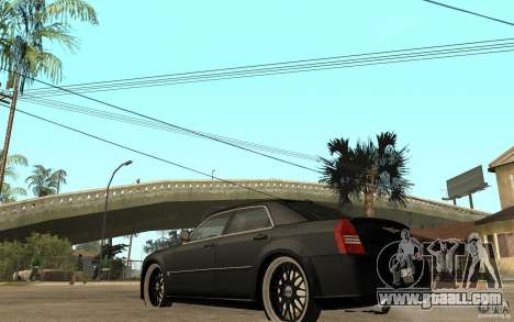 Chrysler 300C DUB for GTA San Andreas back left view