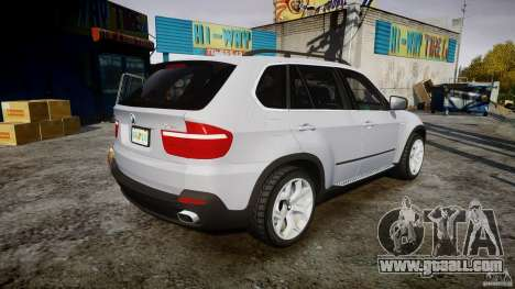 BMW X5 Experience Version 2009 Wheels 214 for GTA 4 upper view