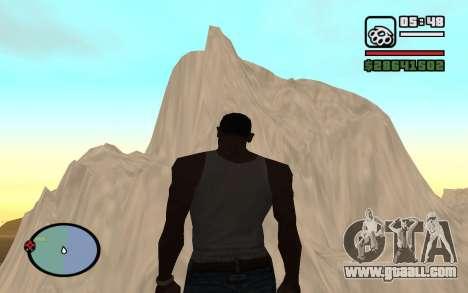 Mountain map for GTA San Andreas fifth screenshot