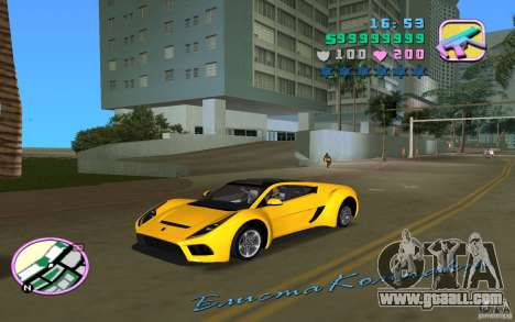 Saleen S5S Raptor for GTA Vice City