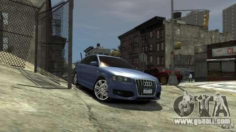 Audi S3 2006 v1.1 tonirovanaâ for GTA 4 right view