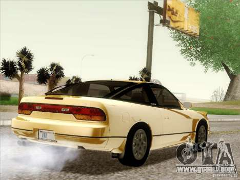 Nissan 240SX S13 - Stock for GTA San Andreas engine